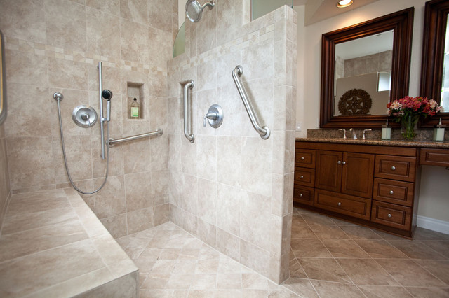 Universal Design Bathroom Contemporary Bathroom Los Angeles