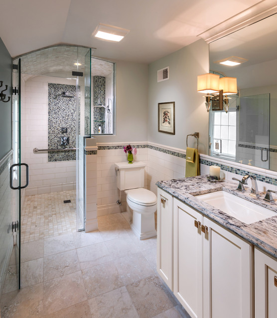 Universal Design Master Bath - Transitional - Bathroom ...