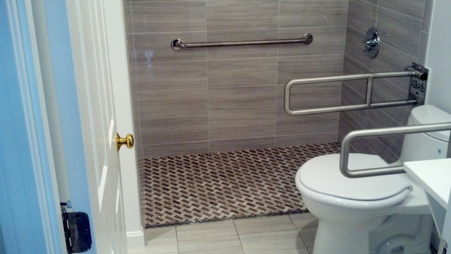 Universal Design Projects transitional-bathroom