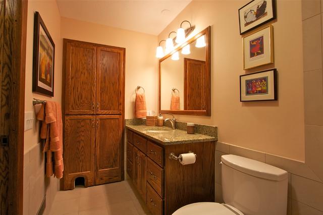 Universally Designed Bathroom traditional-bathroom