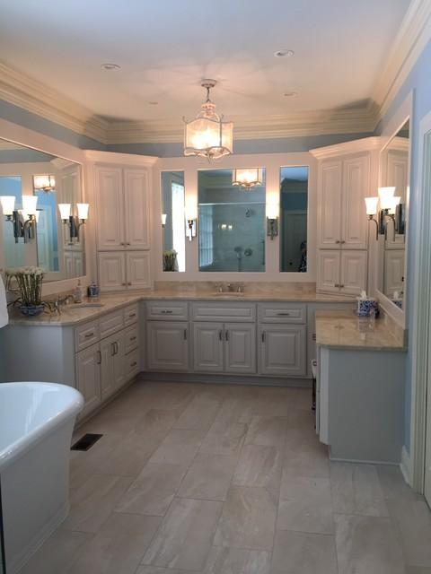 Update master bathroom for Updated master bathrooms