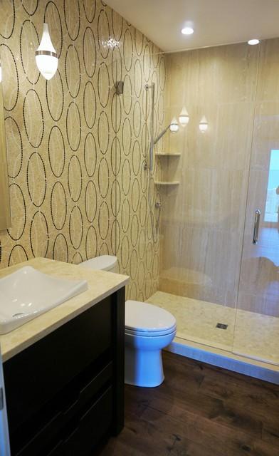 Updated bath modern bathroom jacksonville by for Updated bathrooms designs