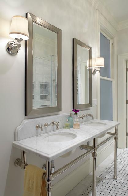 Updated bathroom traditional bathroom san francisco for Updated bathrooms designs
