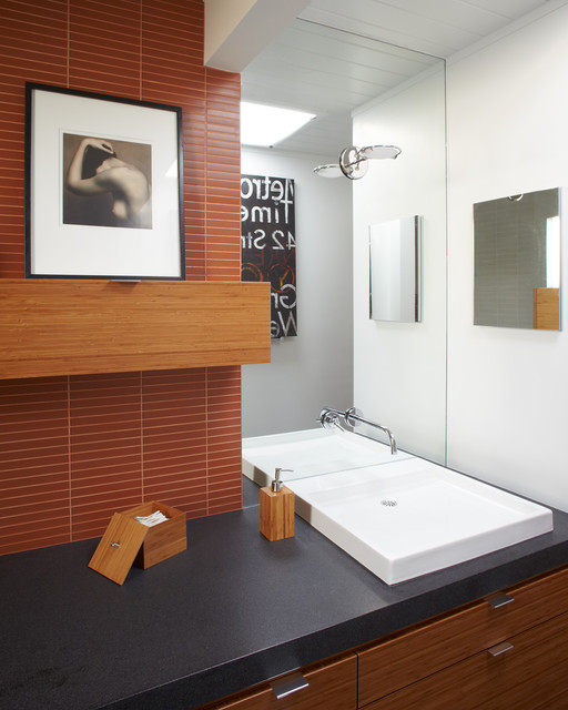 Houzz Com Bathroom: Updated Eichler Bathroom