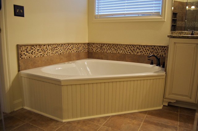 Updated master bath contemporary bathroom louisville for Updated master bathrooms