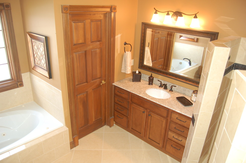Updated Master Bath - Traditional - Bathroom - Louisville ...