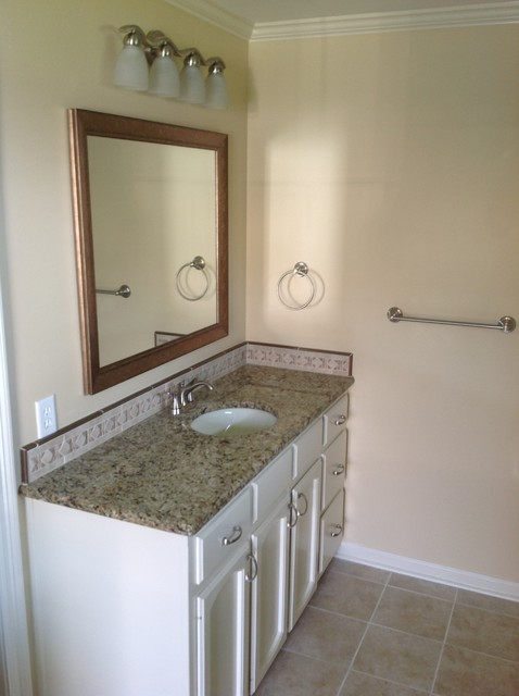 Updated master bathroom and hall bathroom for Updated master bathrooms