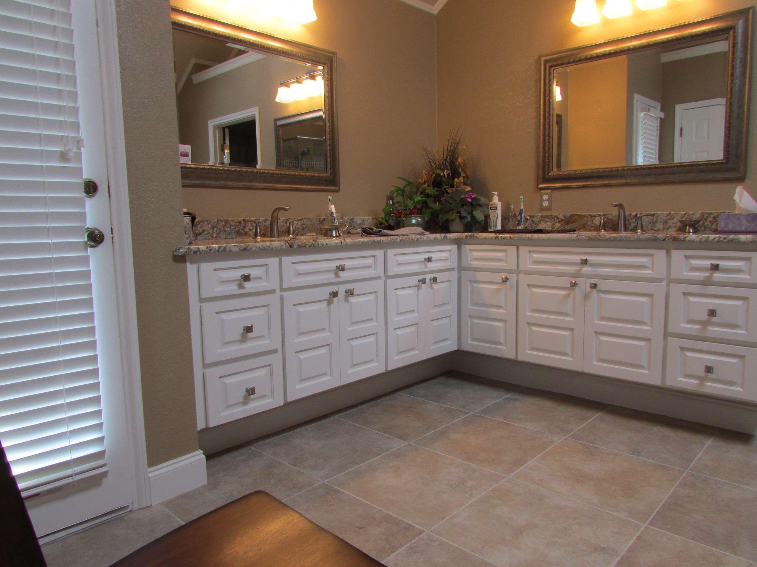 Updated Plano Bathroom