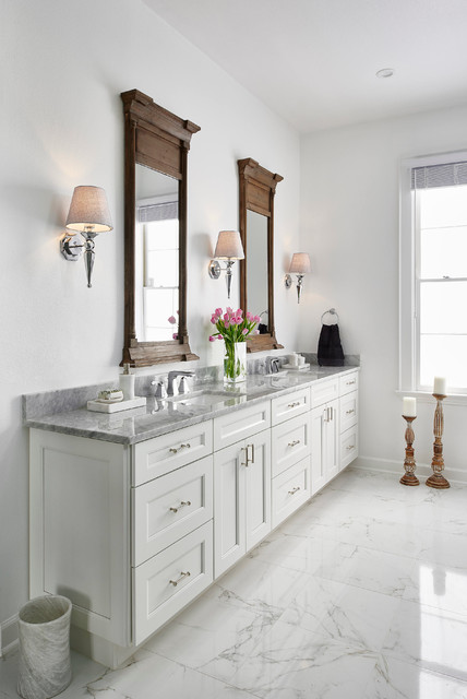 Updated Traditional Home Master Bath transitional bathroom. Updated Traditional Home Master Bath   Transitional   Bathroom