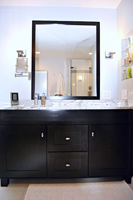 Updated Traditional Master Bath Traditional Bathroom Boston By Torrco Design Center