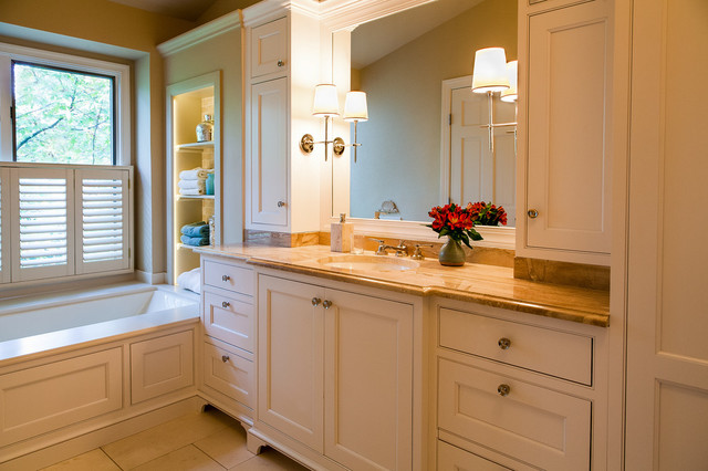 Updating a 25 year old bathroom traditional bathroom dc metro by designline - Change your old bathroom to traditional bathrooms ...