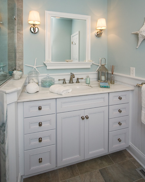 Coastal and Beach Decor: Beach Decor Bathroom