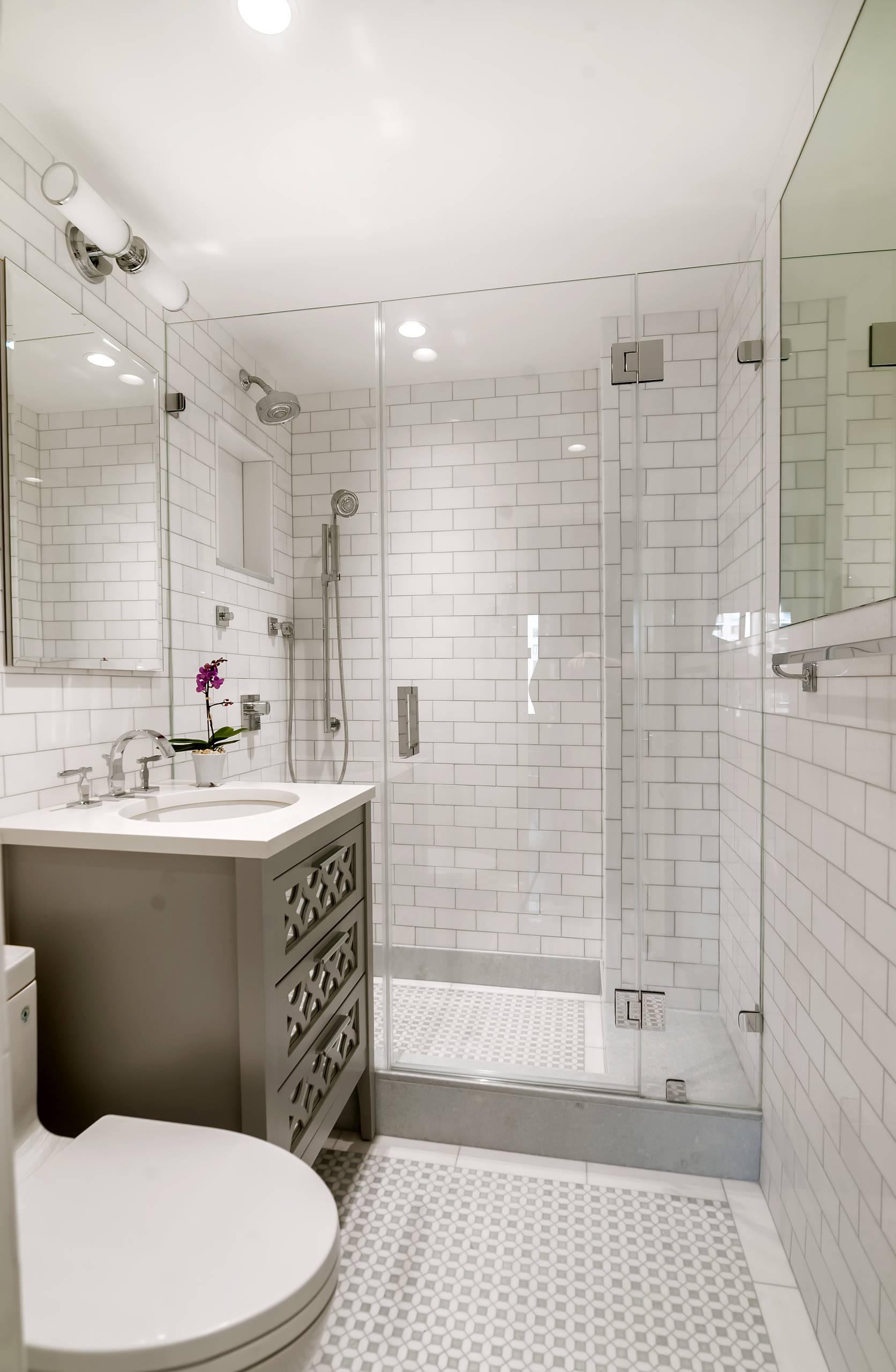 3x12 subway tile shower
