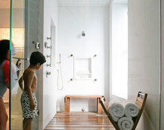 MacDougal Manor contemporary-bathroom