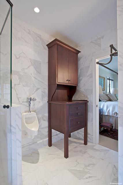 Upscale Man's Bathroom modern-bathroom