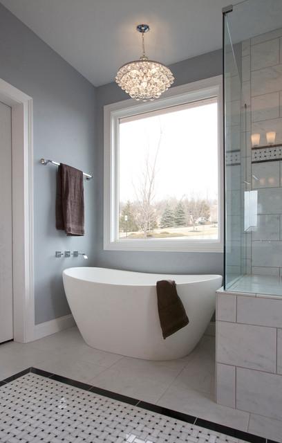 Upscale master Bath Ideas traditional-bathroom