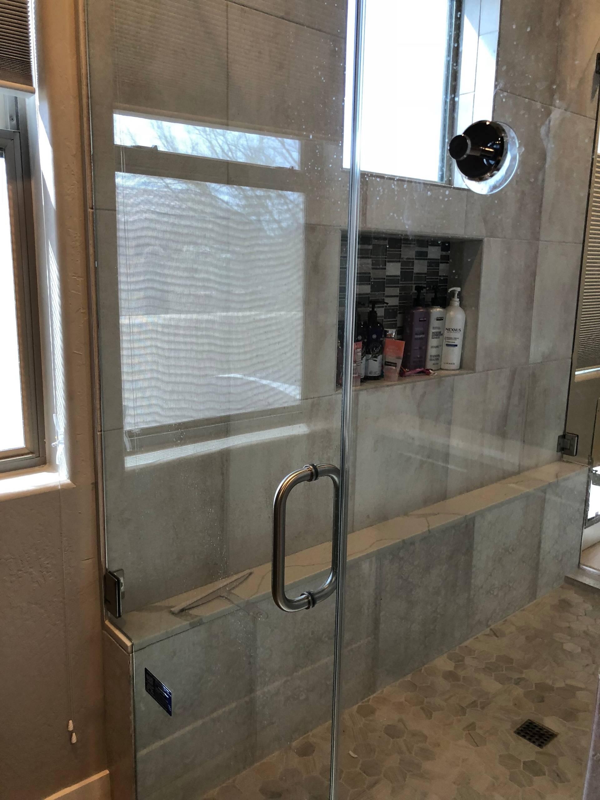 Upscale master bath remodel