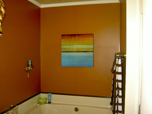 Upstaging Your Homes eclectic-bathroom