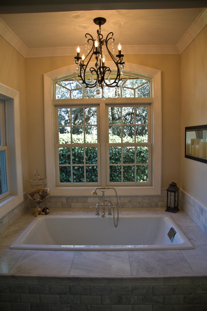 Upstairs and Master Bath Remodel traditional-bathroom