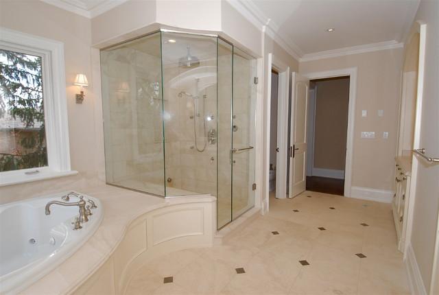Uptown Mansion - Mediterranean - Bathroom - Toronto - by Geometra Design Ltd.
