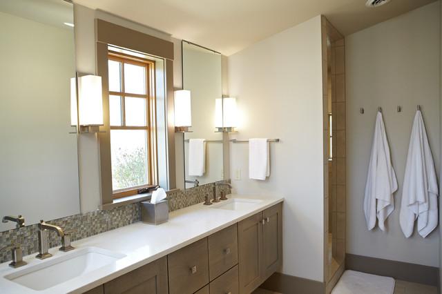 Urban adirondack bathroom grand rapids by tim brinks for Adirondack bathroom design