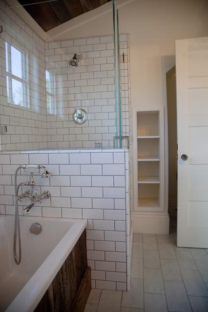 Urban Farmhouse traditional-bathroom
