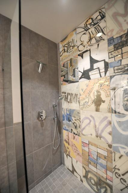 Urban Master Bath Contemporary Bathroom Birmingham By CASE - Bathroom showrooms birmingham