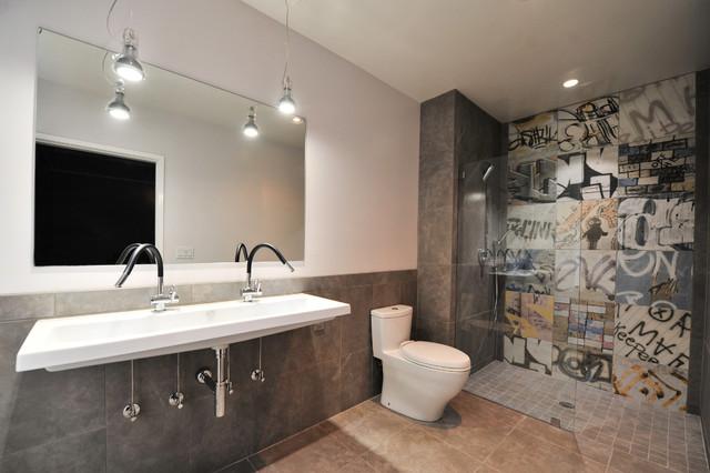 Urban Master Bath Contemporary Bathroom Birmingham