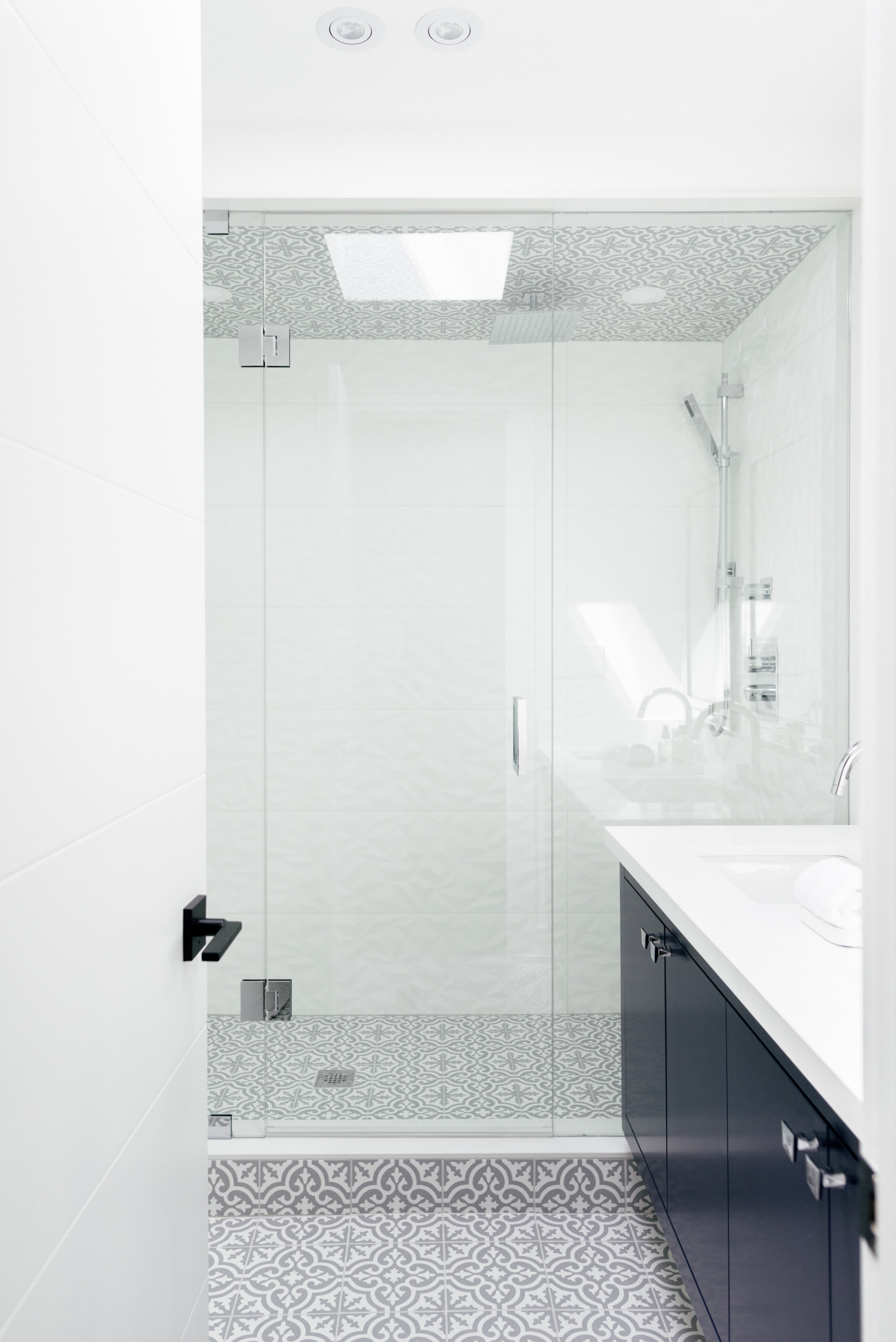 Urban Modern Master Bathroom