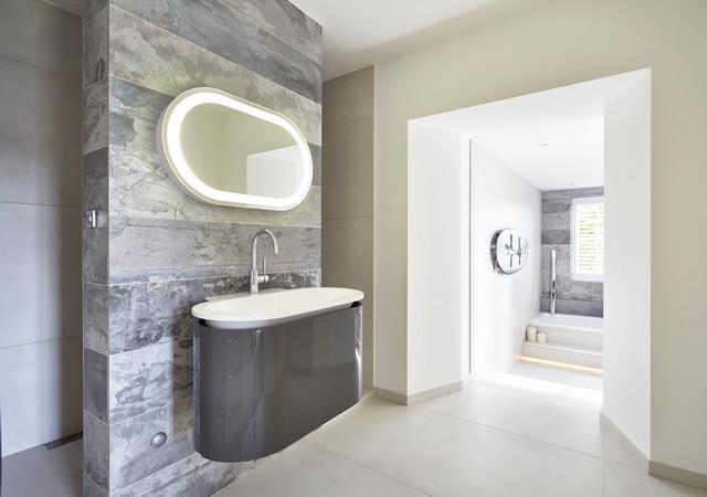 Urban Tranquillity - Contemporary - Bathroom - Devon - by SAPPHIRE SPACES