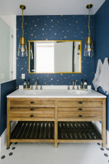 Blue Makes a Refreshing Splash in These 10 Bathrooms