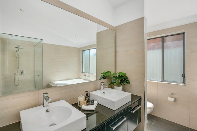 Vacant Property Styling - Ashmore contemporary-bathroom