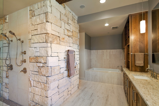 Valentino - Traditional - Bathroom - austin - by Fine Focus Photography