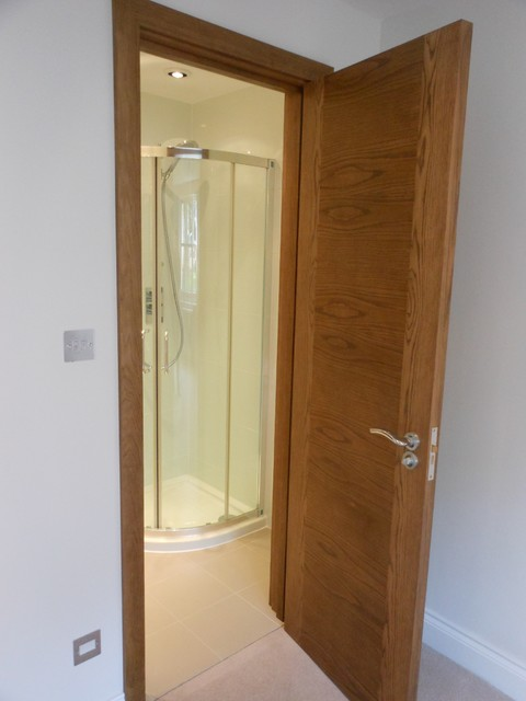 Valetta Bespoke Internal Door Contemporary Bathroom London By Modern Doors Ltd
