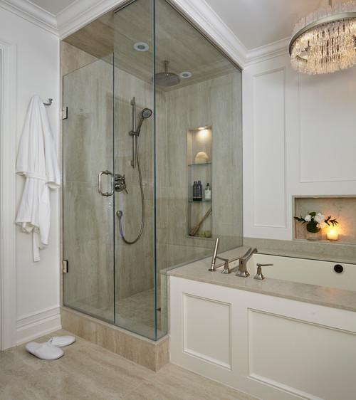 di transizione stanza da bagno