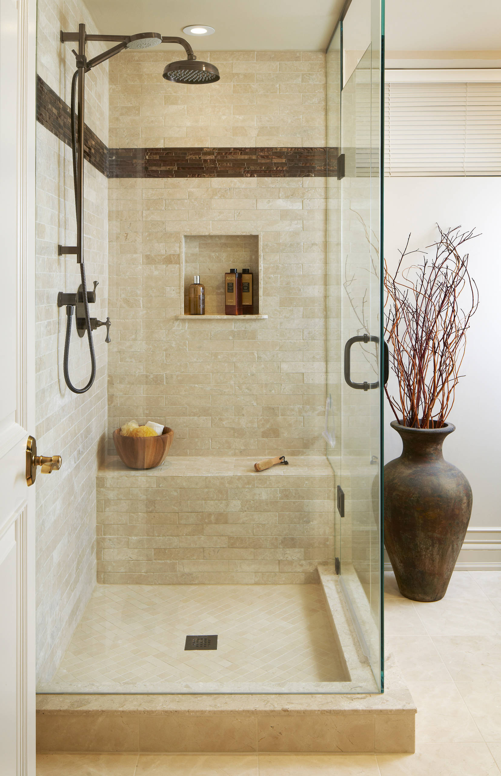 75 Beautiful Beige Tile Bathroom Pictures Ideas March 2021 Houzz