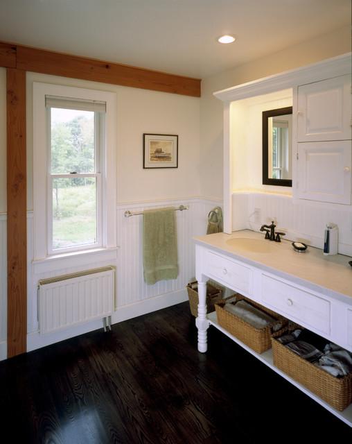 Valley Farmhouse Rustic Bathroom Boston By Habitat