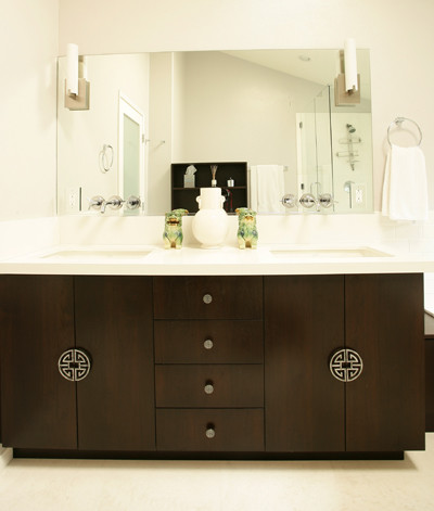 Vanessa De Vargas / Turquoise L.A. contemporary bathroom