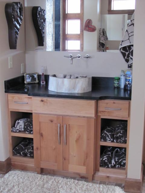 vanities transitional-bathroom