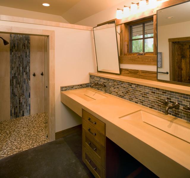 Vanities Contemporary Bathroom Seattle By Austin J Smith Studios