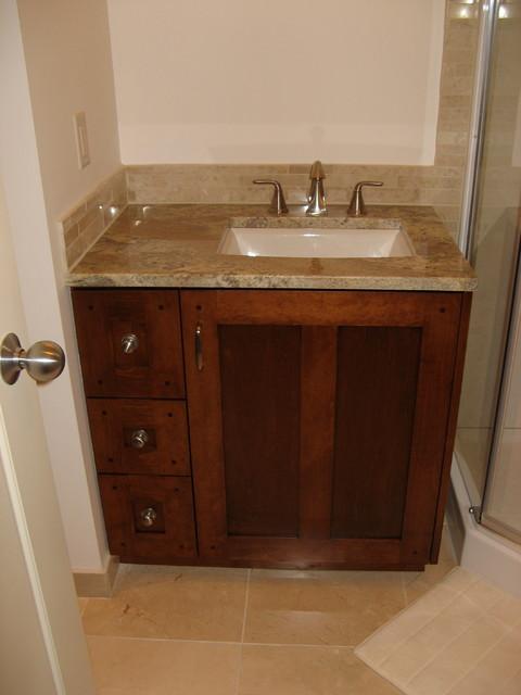 Vanities Craftsman Bathroom Other By Nexs Cabinets Inc