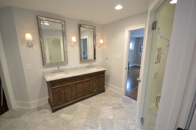 Vanity & Mirror  bathroom
