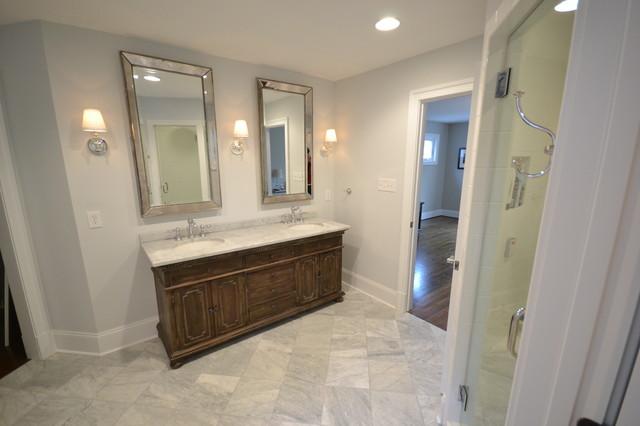 Vanity & Mirror bathroom
