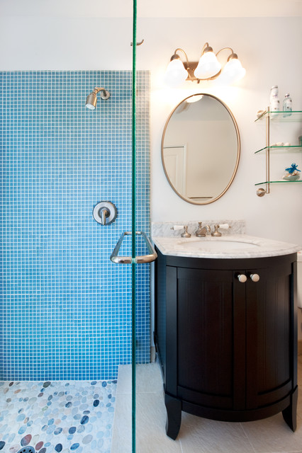 Vanity and Shower traditional-bathroom