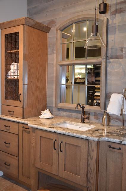 Vanity display rustic bathroom other by yantzi for Bathroom vanity display for sale