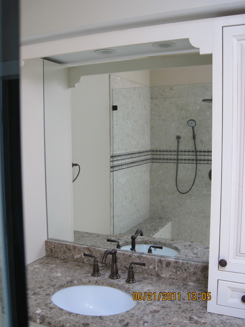 mirrors modern bathroom dc metro by abc glass and mirror inc