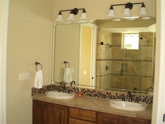 Vanity Mirrors traditional-bathroom