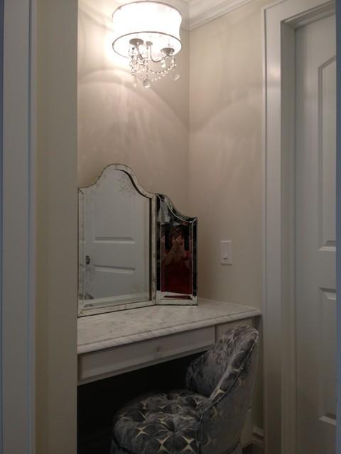 Bathroom Nook vanity nook