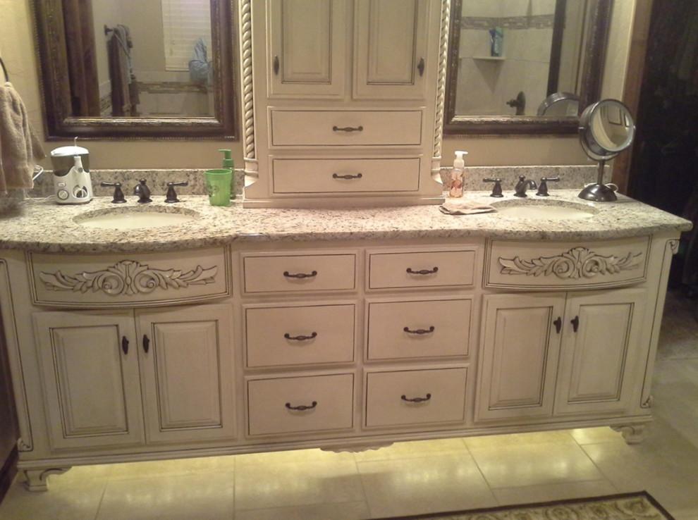 Vanity - Traditional - Bathroom - Oklahoma City - by Wood ...