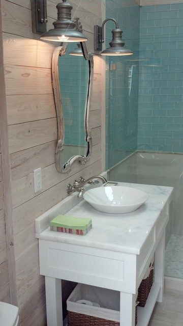 Various Projects transitional-bathroom